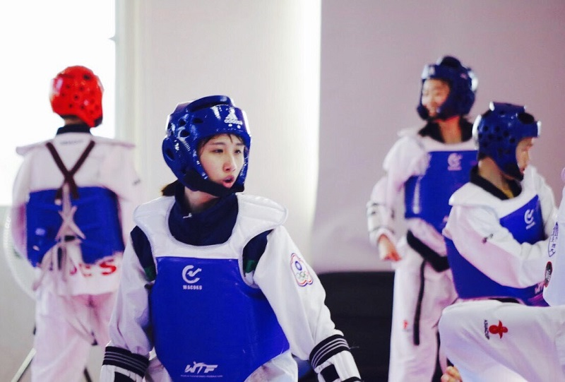 Taiwan's reigning Universiade gold medalist Lin Wang-ting said she has set her sights on successfully defending her taekwondo title on home soil. (pho...