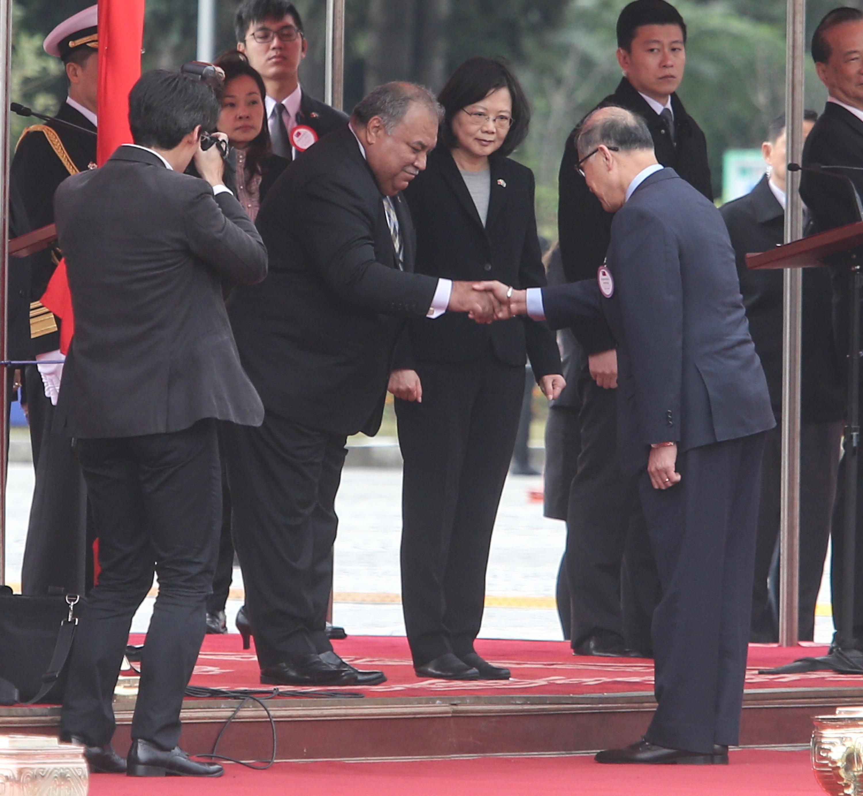 Taiwan welcomes President of Nauru