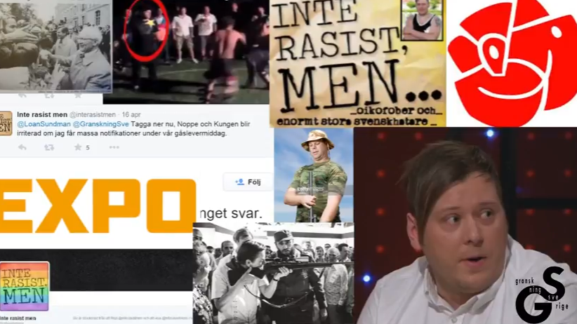 瑞典網站「Granskning Sverige」把自己定位為彰顯「公民意識」的網站,但批評者認為他們充其量就是「宣揚極右派思想的工廠」。(...