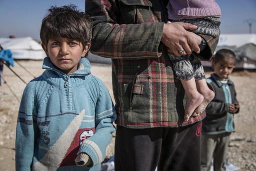 自2011年敘利亞內戰開始已有30萬人死亡,孩童的身心狀況尤其受到嚴重影響。(圖片來源:AP)