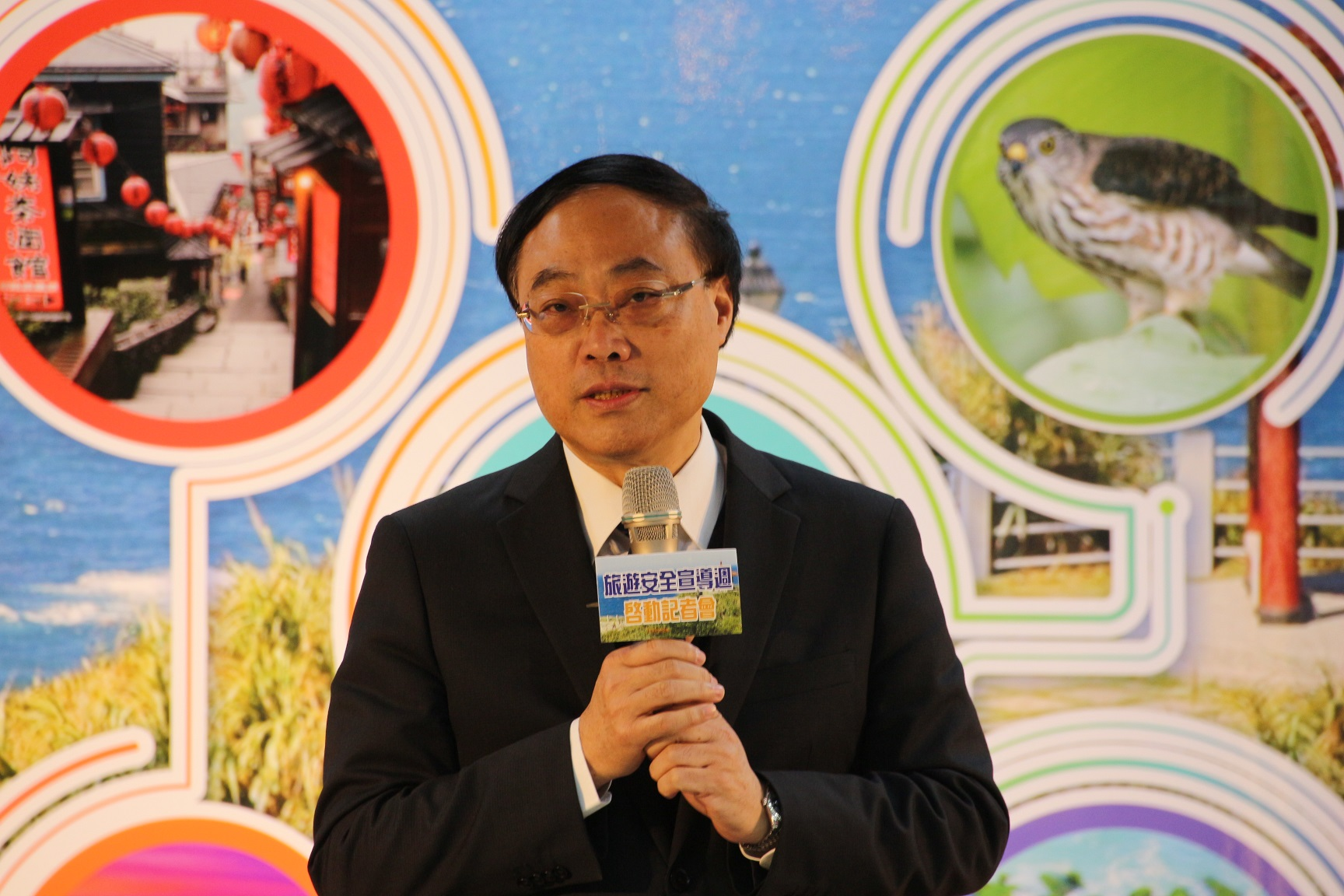 Taiwan's OhBear helps kick off nation's first travel safety awareness week