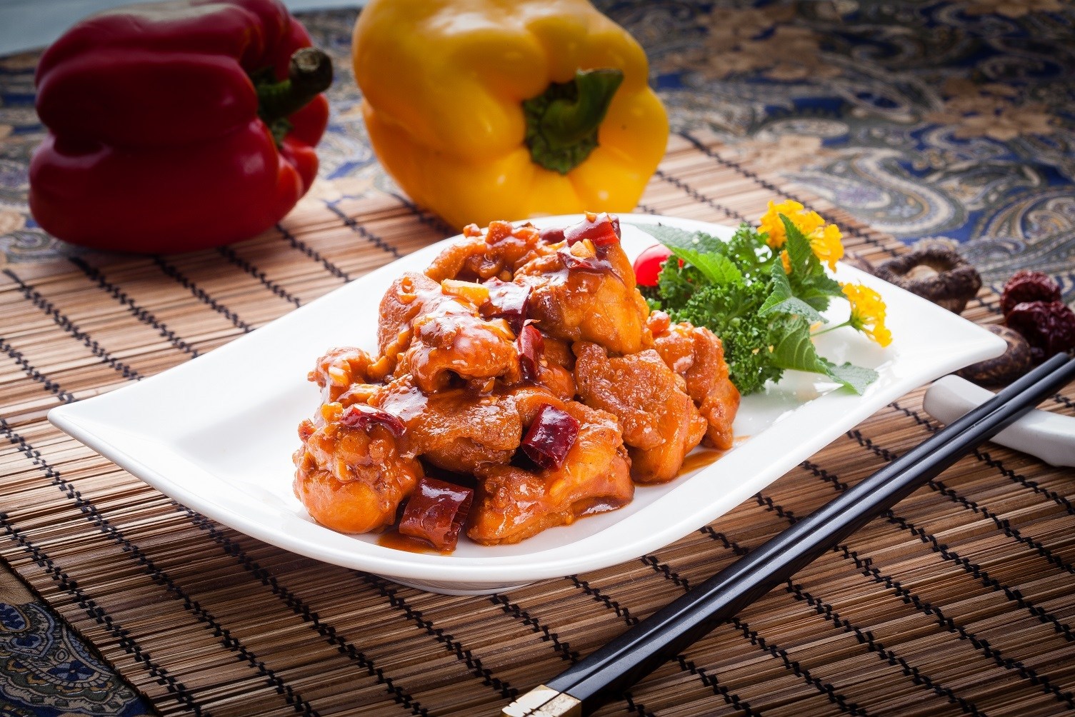 Hunan Chicken Vs General Tso
