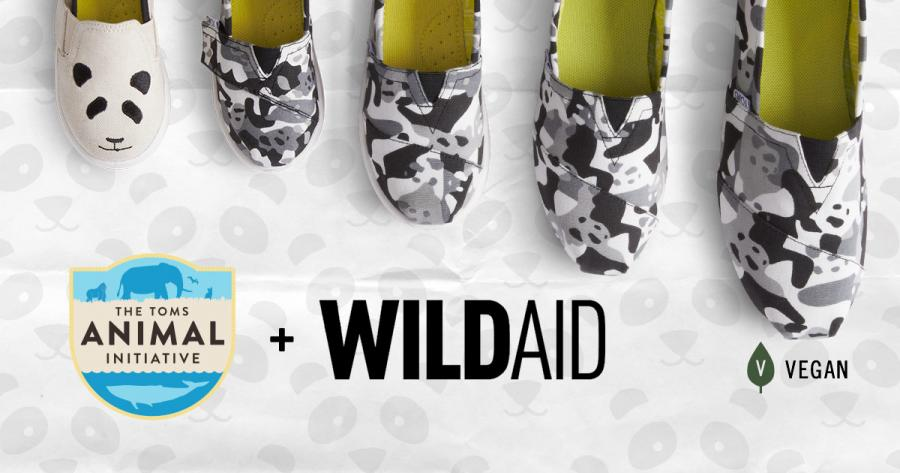 The Toms and WildAid Panda Collection (Photo / WildAid)