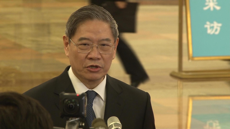 中國大陸國台辦主任張志軍5日說,中國大陸的對台方針不會因為台灣局勢的改變而變化。中央社記者邱國強北京攝 2017年3月5日