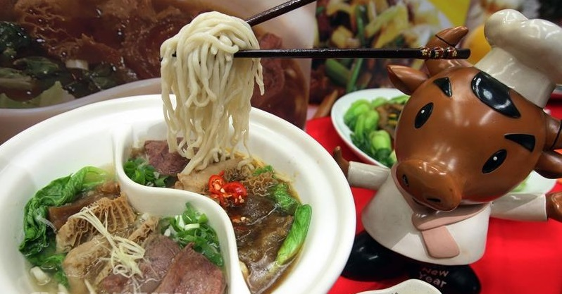 What are five street foods that a visitor to Taipei must not miss? According to Travelers Today, a popular travel website, they are beef noodle soup.....