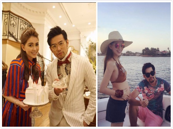 Jay Chou and Hannah Quinlivan (from Chou's Facebook page).
