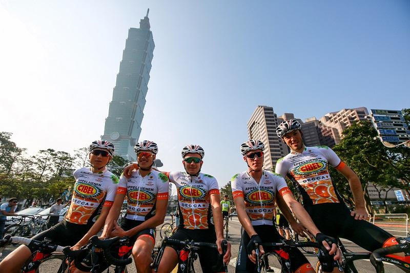 Tour de Taiwan starts on Sunday at Taipei City Hall (photo from Tour de Taiwan official website)