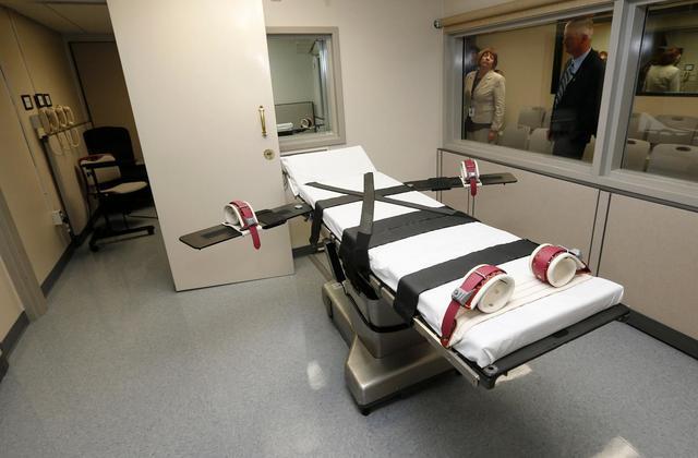 目擊證人會於觀看室全程觀看死刑執行。(圖片來源:AP)