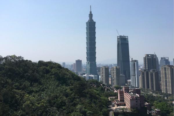Taipei 101 from the Elephant Mountain trail (Sophia Yang/ Taiwan News)