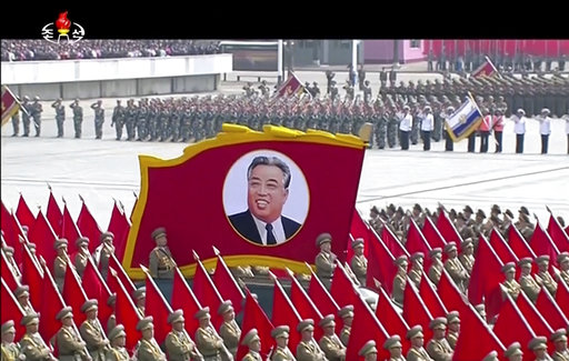 Trump 'creating a war situation' says North Korean official at enormous  parade