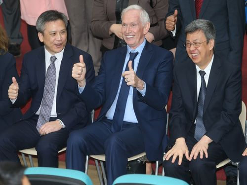 New AIT complex unveiled as symbol of 'strong U.S.  commitment to Taiwan'