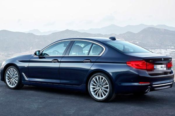 BMW sedan (Photo courtesy of BMW)