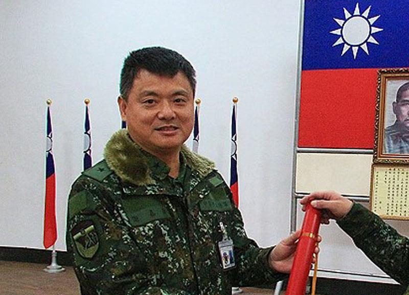 Major General Hsieh Chia-kang (photo from Matsu Daily).