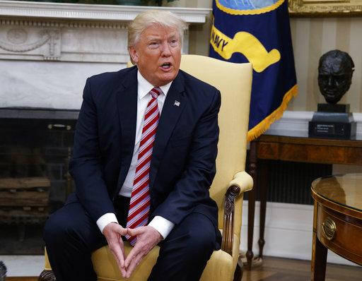 美國總統川普 (圖片取自美聯社)
