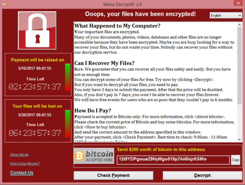 Pirated Windows led to WannaCry's spread in China and Russia