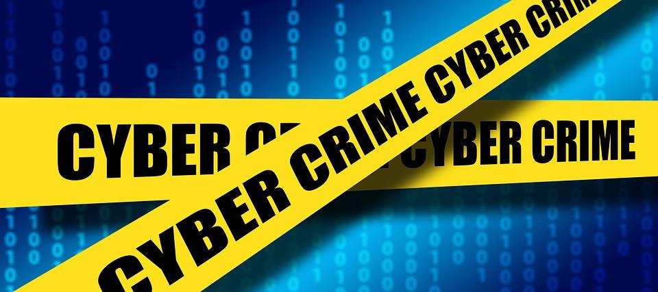 A concept art of cyber crime uploaded by Pixabay user geralt. (Image courtesy of Pixabay)