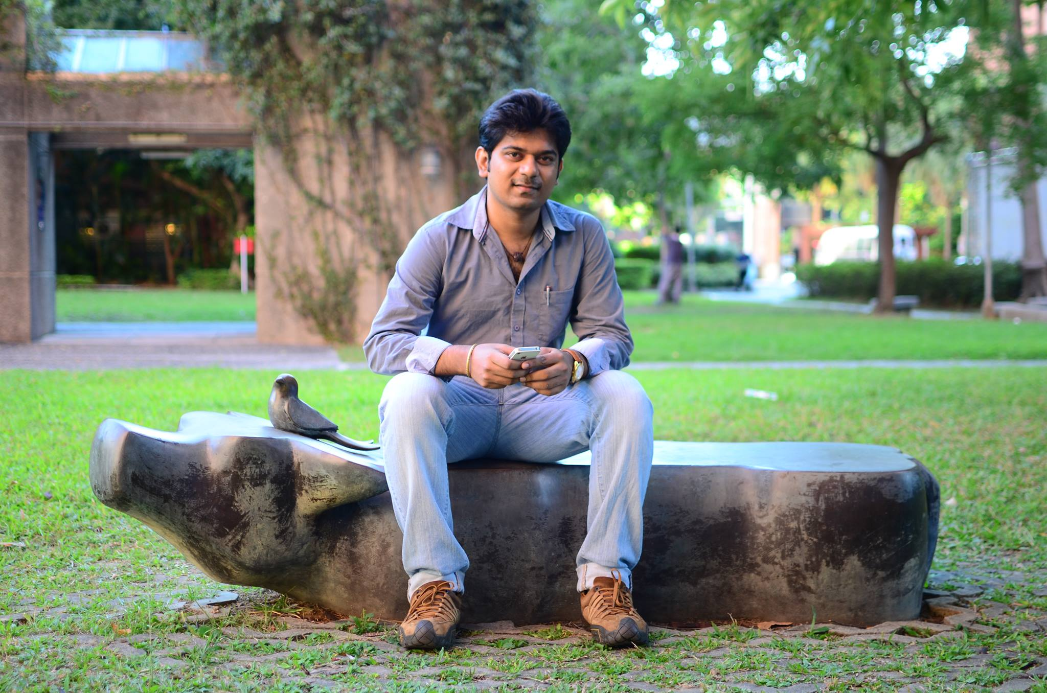 Indian student starts company while pursuing PhD in Taiwan