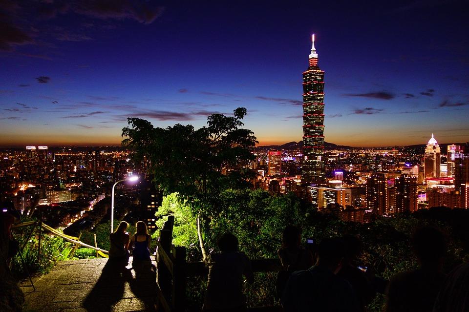 Taipei 101 the top landmark in Taiwan