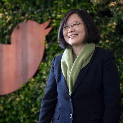 President Tsai Ing-wen Twitter profile.