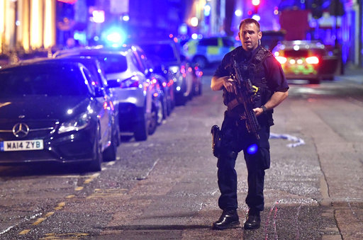 Police declare attacks 'terrorist incident — TERROR IN LONDON