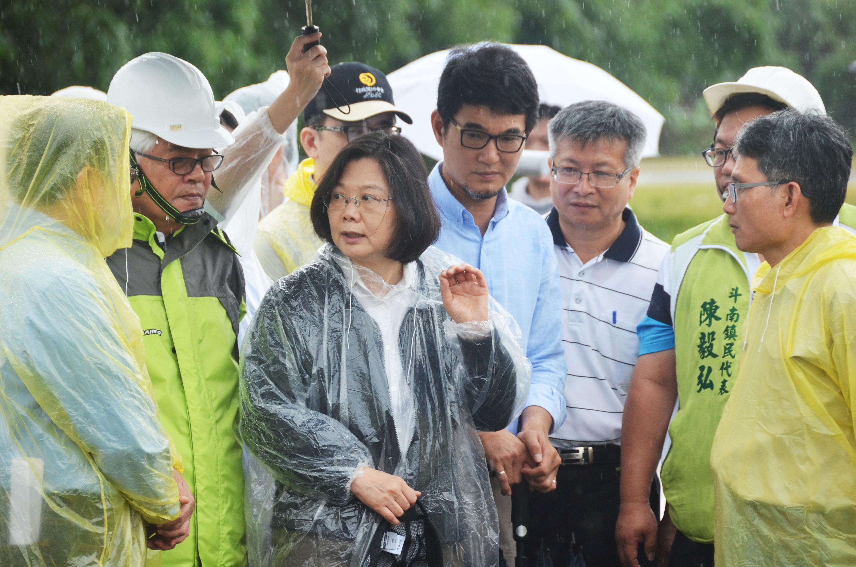 President Tsai visiting Yunlin Sunday.