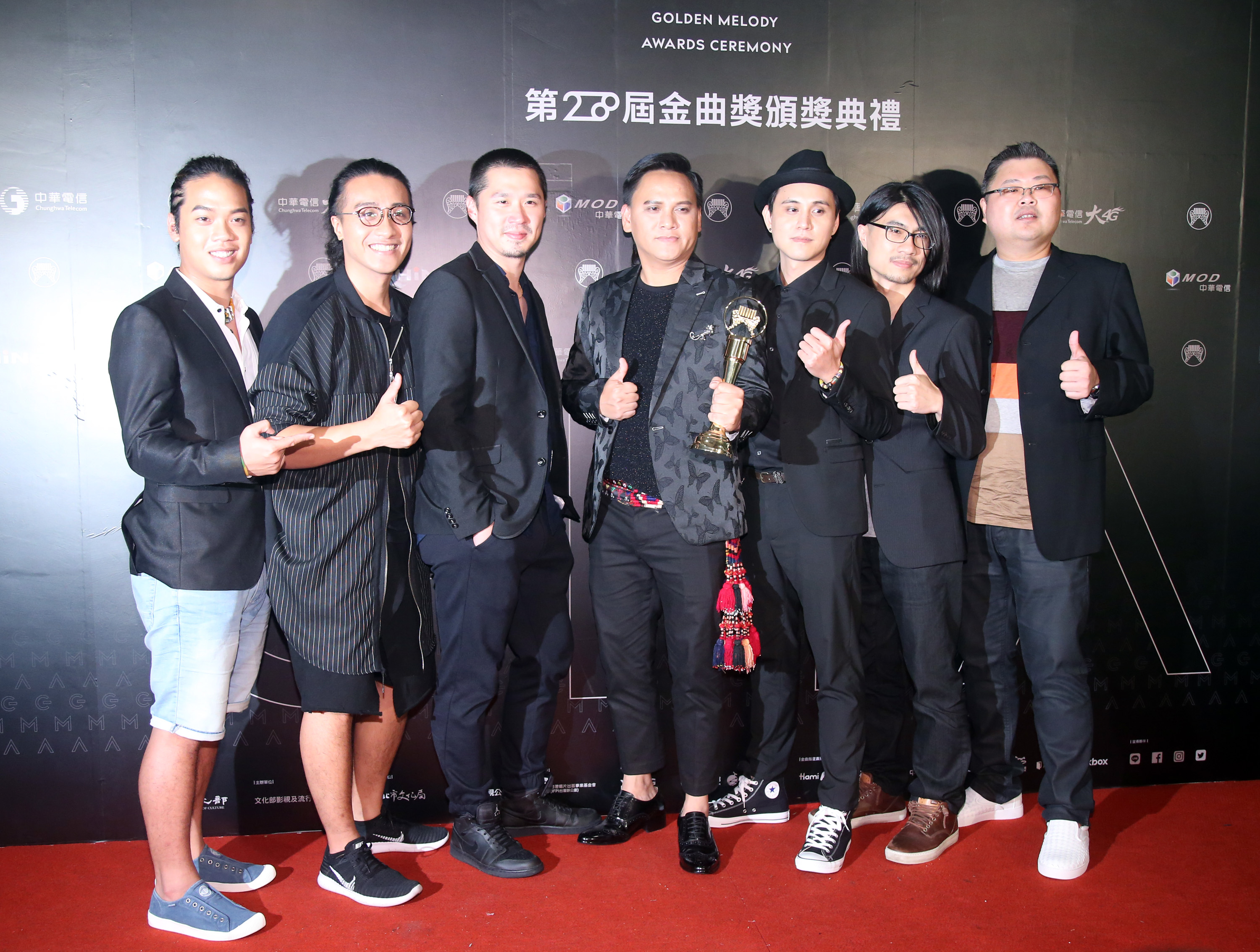 Music veterans and newcomers on Saturday split the top awards at the 28th Golden Melody Awards, Taiwan's biggest music awards event.