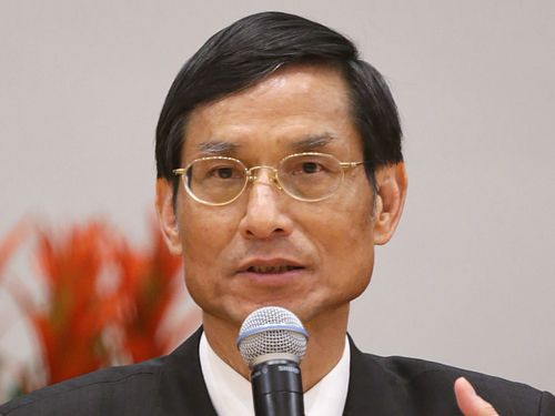 Minister without Portfolio Lin Wan-yi.