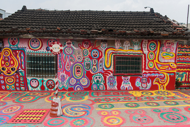 Rainbow Village. (Image by flickr user Yu-Hsin Hung)