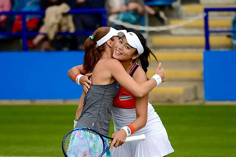 Taiwan's Chan and Hingis win their fifth doubles titles of the year