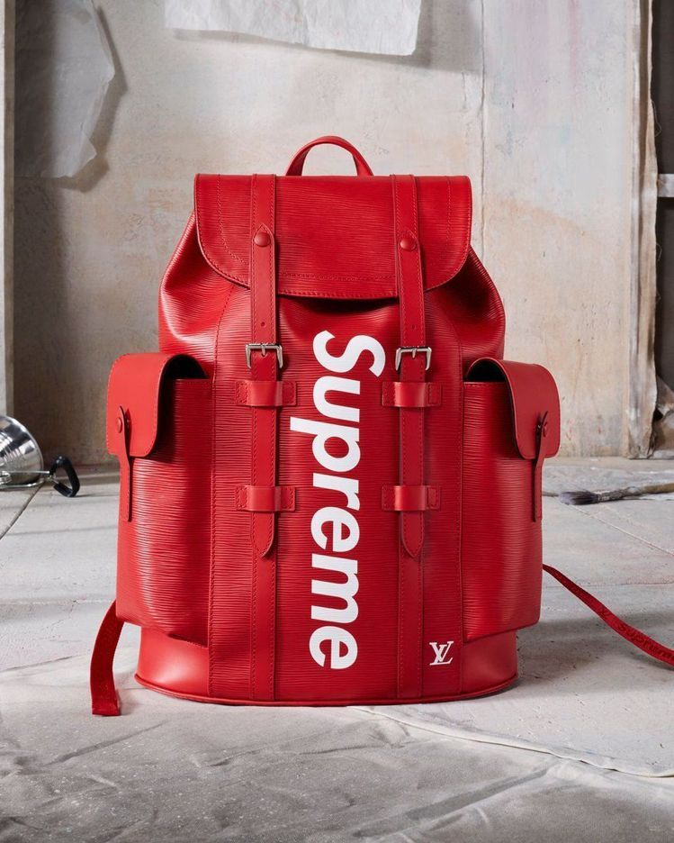 A Louis Vuitton X Supreme Backpack Photo Courtesy Of