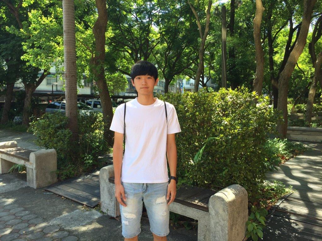 永平高中林同學 (照片由新北市教育局提供)