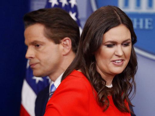 由出身政治家庭的桑德斯(Sarah Huckabee Sanders)接下白宮新聞祕書,是白宮史上第三位女性發言人。(圖片來源:AP)