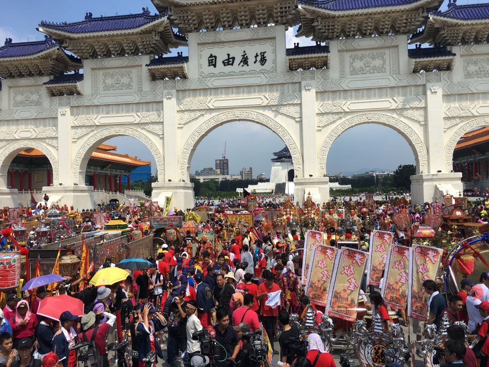 Hell to pay: Taoist gods take to Taipei streets to protest curbs on burning offerings