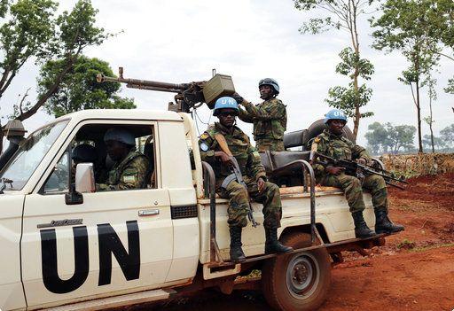 聯合國在中非的維和部隊