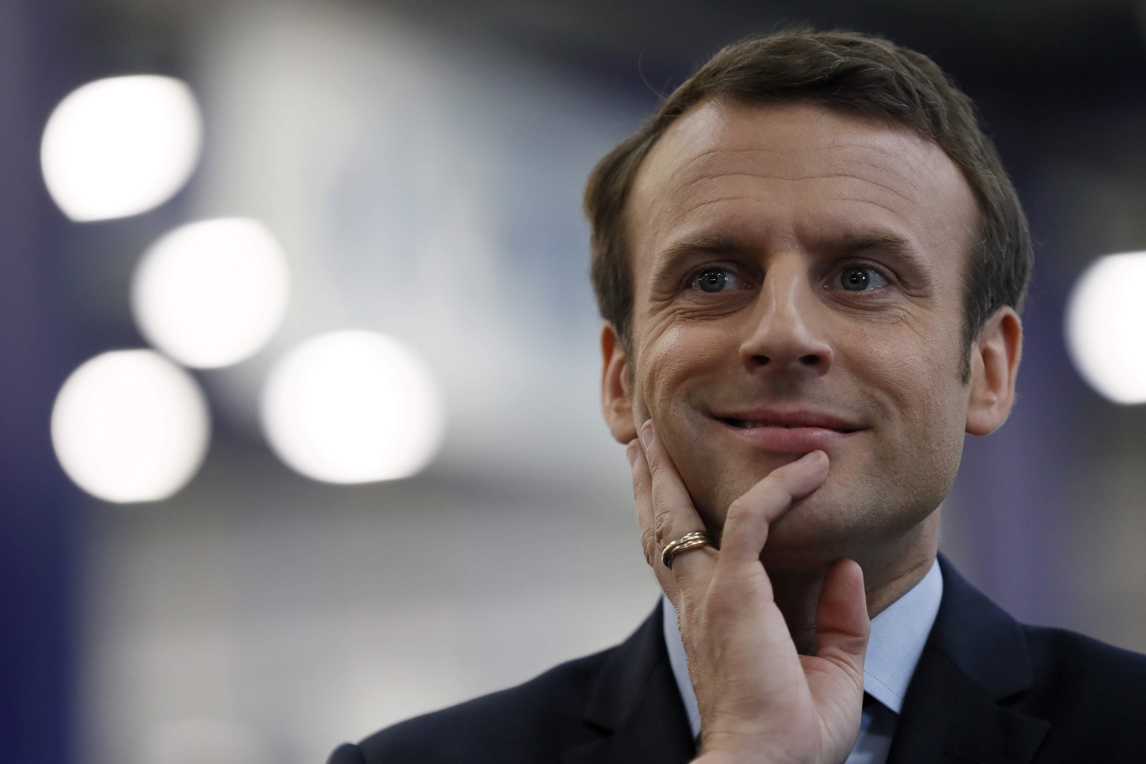 法國總統馬克宏(Emmanuel Macron)(美聯社)