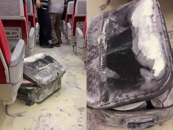 台鐵昨(24)晚一列普悠瑪列車,發生首例旅客行李箱內鋰電池爆炸案件,台鐵緊急疏散旅客,幸好無人傷亡。