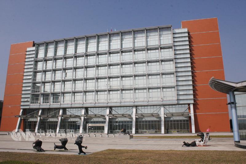 圖為南科管理局大樓。