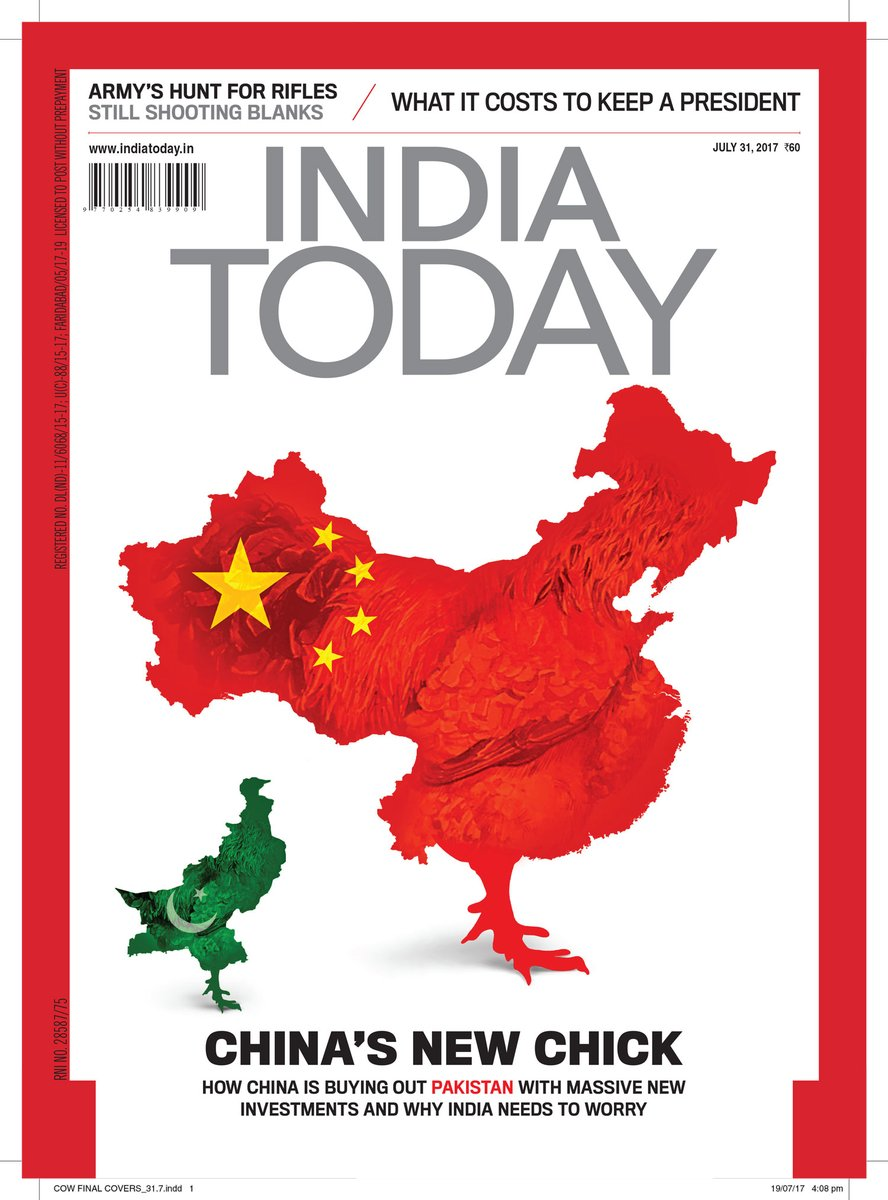 Image of India Today cover. (India Today Twitter Page)