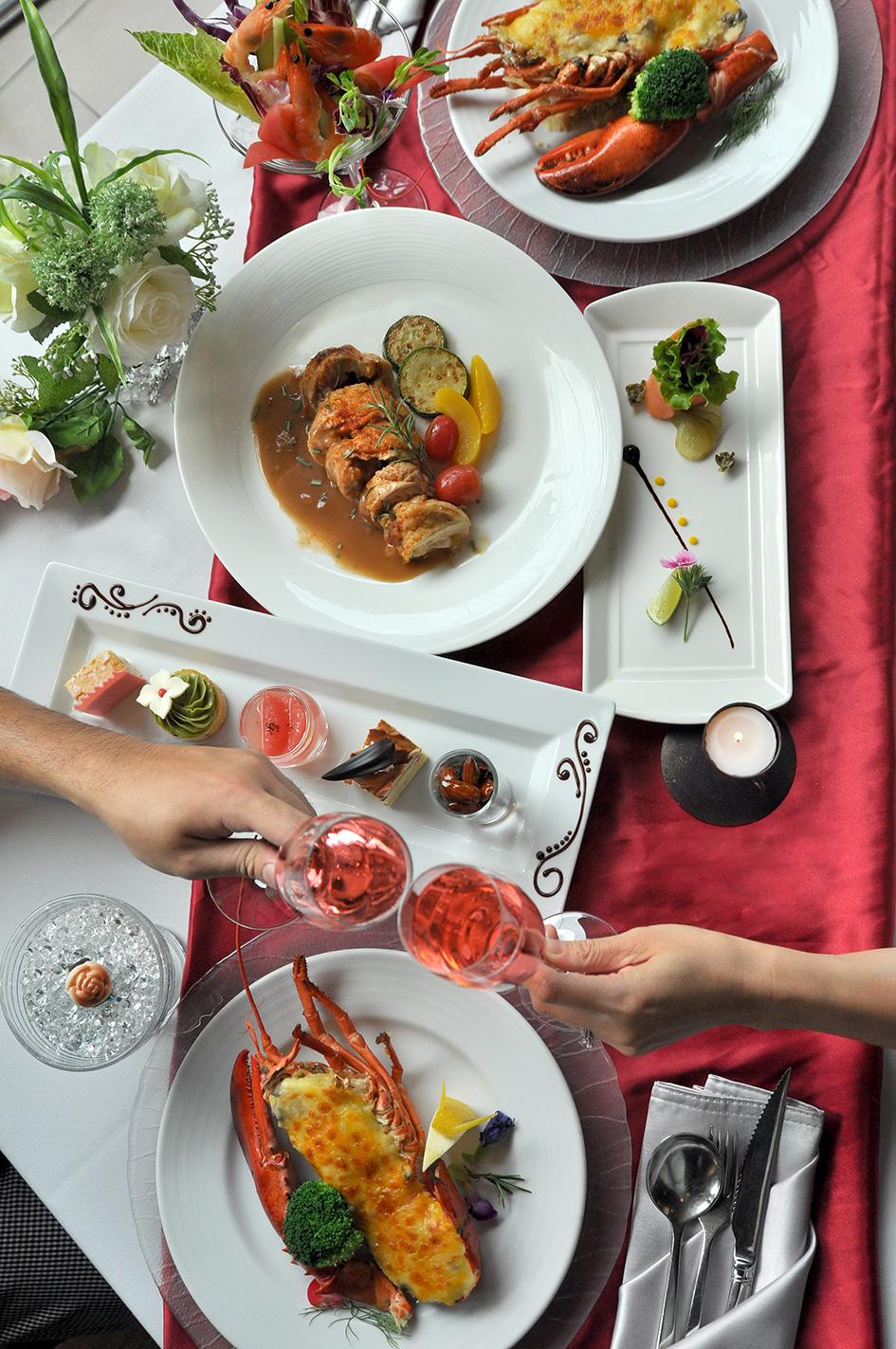 雨林餐廳晚間推出『愛在七夕˙龍蝦傳情意』與您共度浪漫情人節