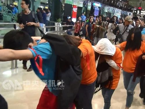 Indonesia deports Chinese, Taiwanese scam suspects