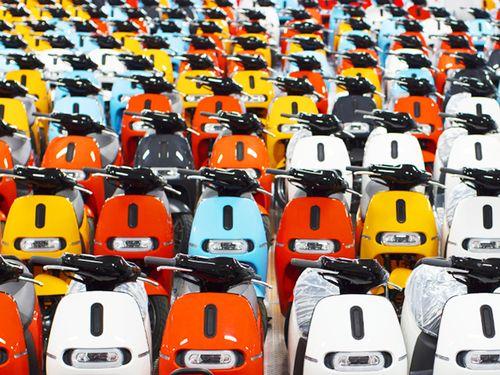 Over 1300 Gogoro riders took to the road (Photo courtesy of Gogoro Inc.)