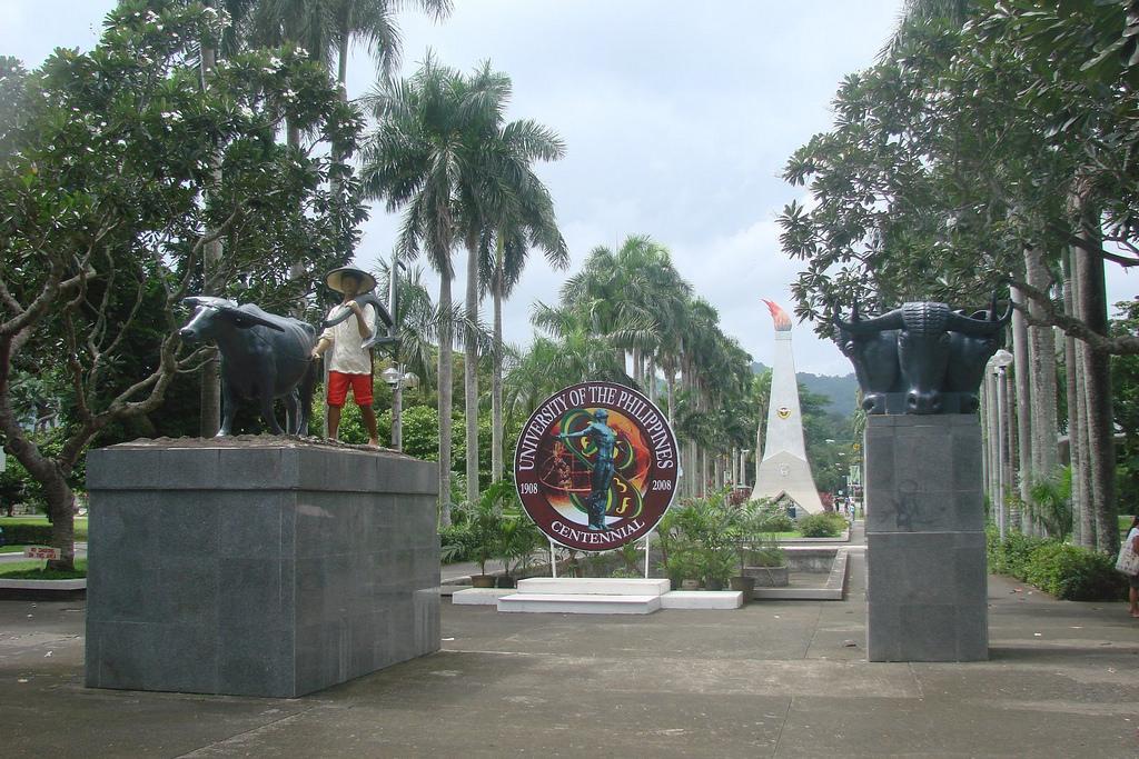 上大學對菲律賓人來說將會變得更為容易。圖為菲律賓大學(University of Philippines)。(圖片來源:Flickr)
