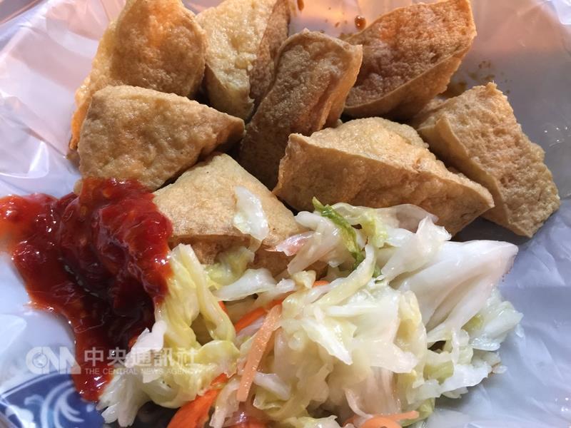 Stinky tofu ranks top of the Taipei night market food