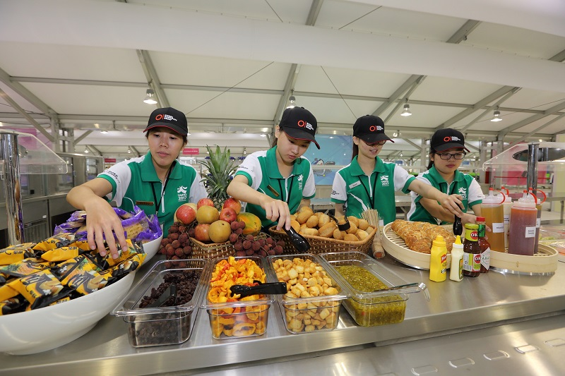 The biggest dining hall ever opened in Taiwan