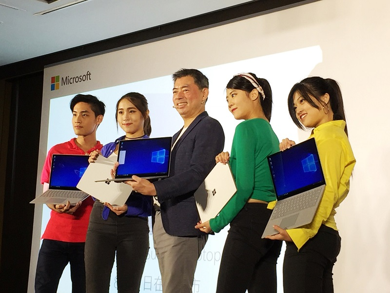 Microsoft Surface Laptop becomes available in Taiwan Aug 8