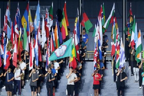 Taipei Universiade Opening Ceremony rehearsal