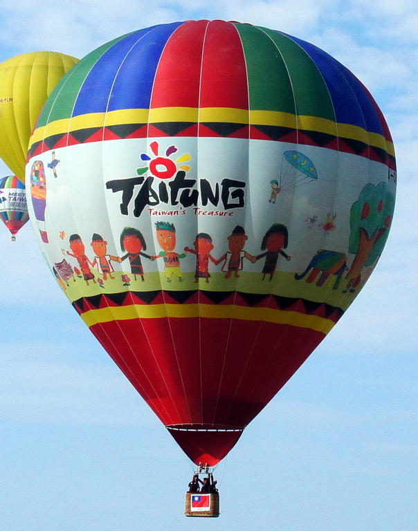 Twin balloon festivals in Taiwan lift spirits after typhoons