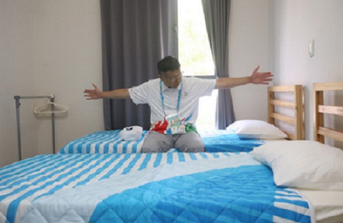 Athletes' village opens its doors to Taipei Universiade participants