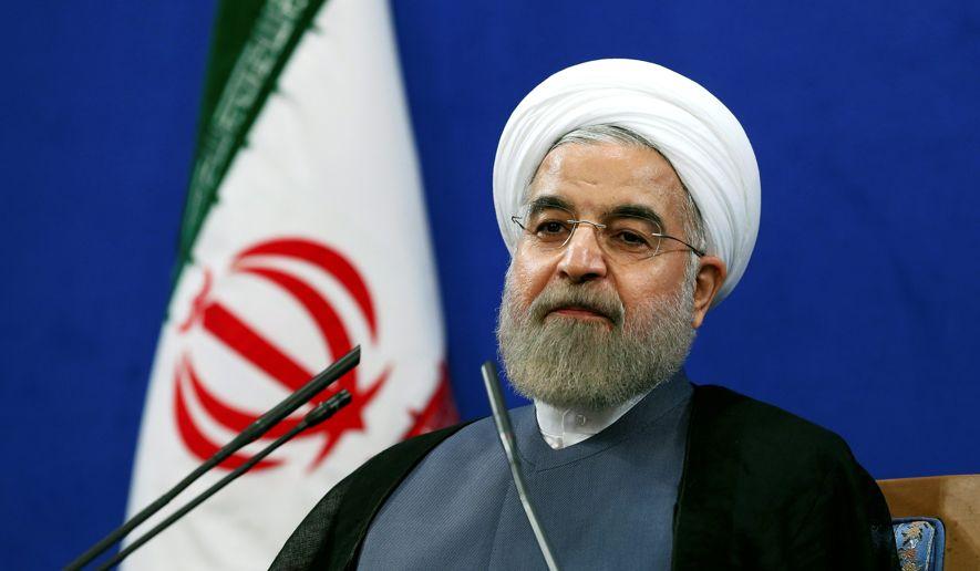 伊朗總統魯哈尼(AP)