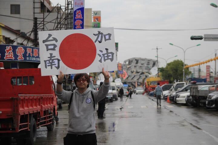 Kennichi Nakajima in Taiwan (Photo courtesy of Kennichi Nakajima)